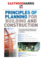 Principles of Planning for Building and Construction - Student Handout